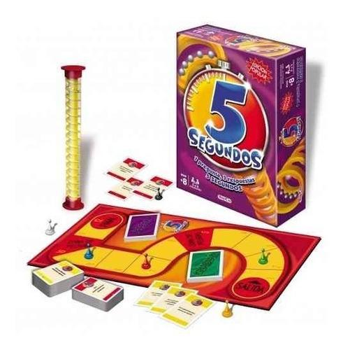 Imagen 1 de 1 de 5 Segundos Edicion Popular Juego De Mesa Original De Toyco