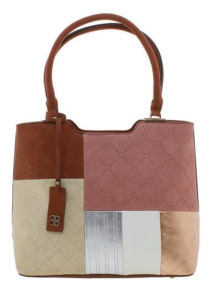 Bolsa Feminina Chenson - Cg81819 Caramelo
