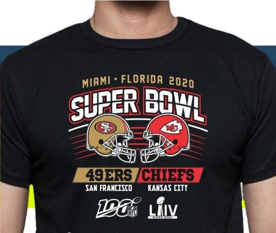 Camiseta Super Bowl 2020 Unisex