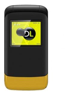 Telefone Celular Yc230 Flip Dl 2chip Idoso Teclado Grande