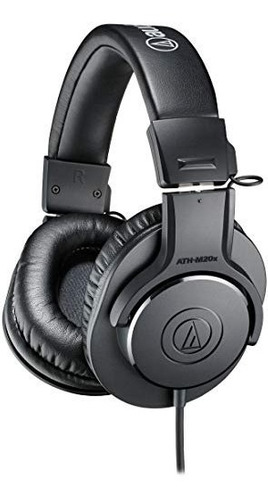 Audio-technica Ath-m20x Profesionales Auriculares Monitor D
