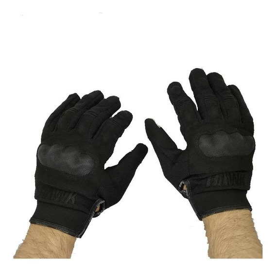Guante Hawk Army Black Full Finger En Cycles