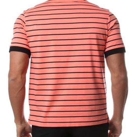 Camisa Polo Nina Ricci Salmón Talla Grande *jcvboutique*