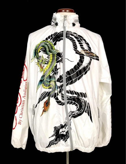 Chamarra Hombre Rompe Viento Ed Hardy Premium Xl Ink Tattoo
