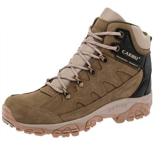 Zapato Caribu 002-z Color Olivo Hombre Sc-oi19