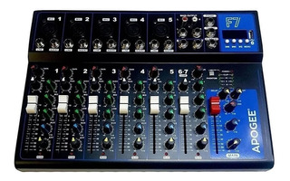 Consola Mixer Apogee F7 Audio 7 Canales Usb
