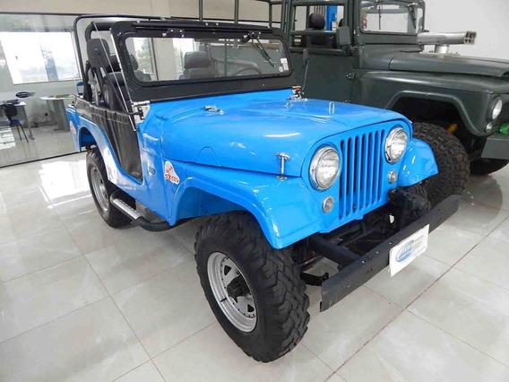 Willys Overland 4cc 4x4 Reduzido 1957 Excelente Estado
