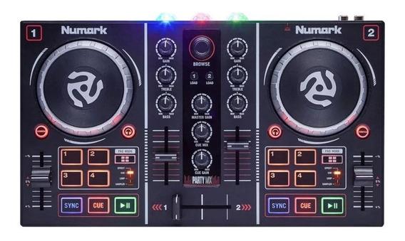 Controlador De Virtual Dj Nummark