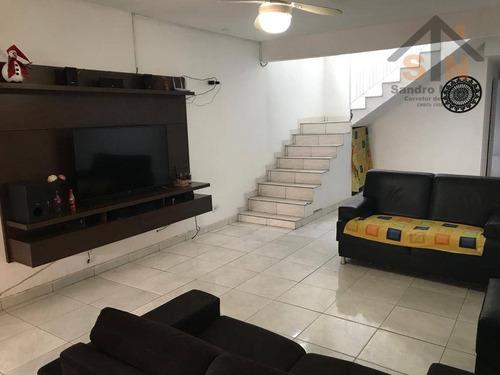 Sobrado Com 3 Dormitórios À Venda, 179 M² Por R$ 250.000,00 - Cidade Aracilia - Guarulhos/sp - So0193