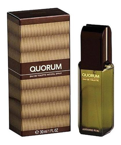 Imagen 1 de 1 de Perfume Original Hombre Quorum Antonio Puig 30ml /superstore