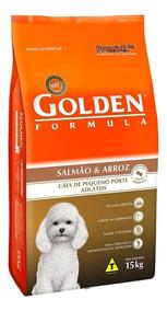 Ração Premier Golden Mini Bits Salmão E Arroz 15 Kg