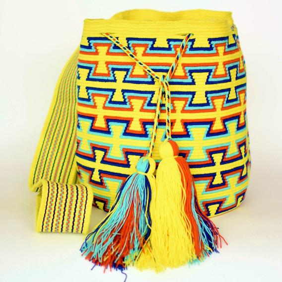 Bolsa Wayuu Original - Produzida Na Colômbia