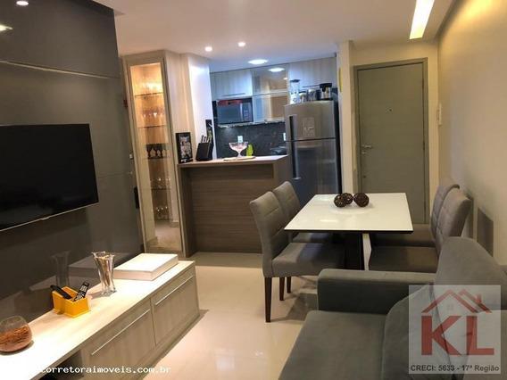 Apartamento Para Venda Em Natal, Lagoa Nova, 2 Dormitórios, 1 Suíte, 2 Banheiros, 1 Vaga - Ka 0764_2-881972