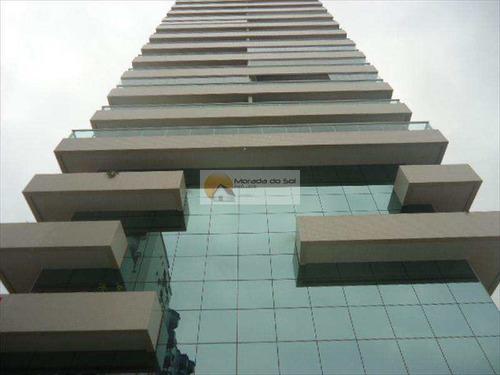 Apartamento Com 2 Dorms, Canto Do Forte, Praia Grande - R$ 550 Mil, Cod: 3495 - V3495