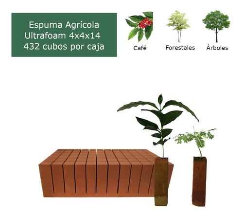 Imagen 1 de 9 de Caja De Espuma Agrícola Ultrafoam 4x4x14 (432 Cubos)