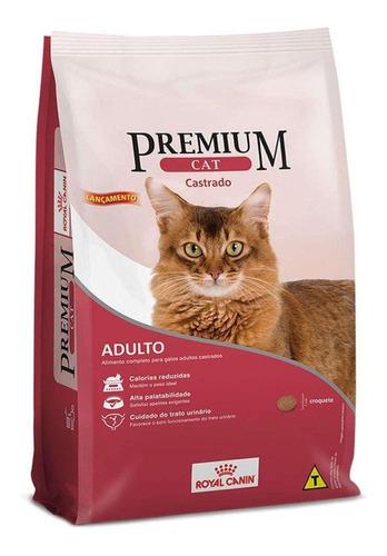 Ração Royal Canin Premium Cat Castrados para gato adulto sabor mix em saco de 1kg