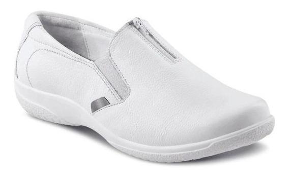 Zapato Enfermera 100% Piel, Amortiguacion Suave