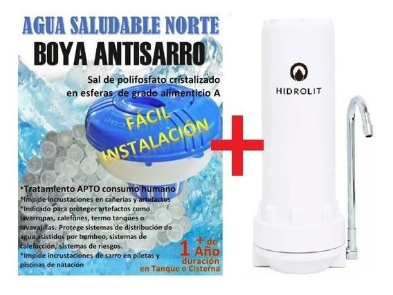 Boya Antisarro +filtro Scenic Out Arsénico Hidrolit Metales