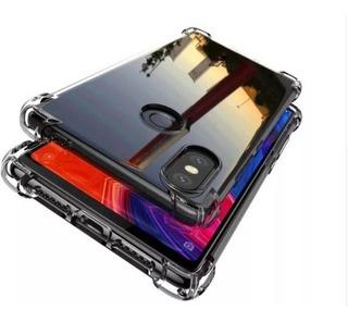 Capa Crystal Anti Impacto Redmi Note 6 Pro + Película Gel