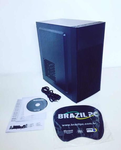 Micro Desktop Brazilpc I3 4gb 500hd Hdmi Atacado Consulte