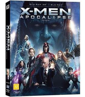 Blu-ray 3d + 2d - X-men: Apocalipse / Edição De Colecionador