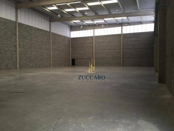 Galpão Para Alugar, 1300 M² Por R$ 18.500,00/mês - Una - Itaquaquecetuba/sp - Ga1575