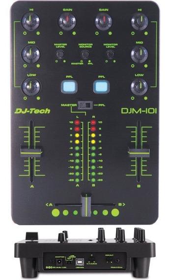 Mixer Dj Controladora Dj - Djm 101 Dj Tech