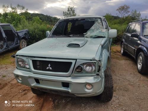 Sucata Mitsubishi L200 Gls 2.5 Diesel 2002 4x4 Manual