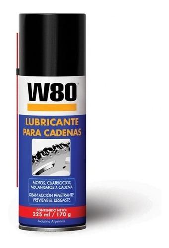 W80 Lubricante Para Cadenas