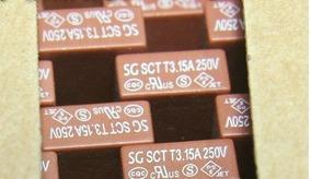 Fusivel Sg Sct 3.15a 250v Sony Novo Funcionando Temos 03 Uni