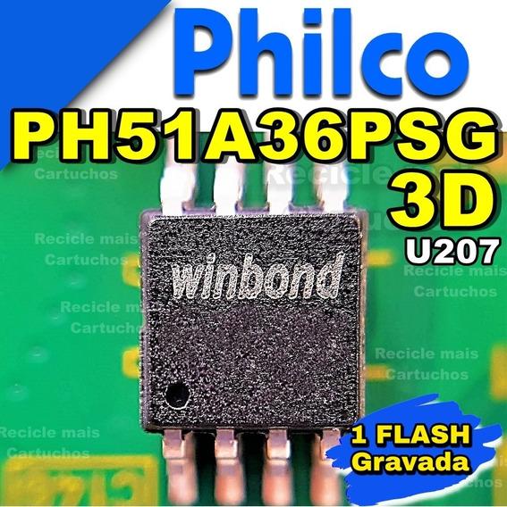 Memoria Flash Tv Philco Ph51a36psg 3d Led Bios Eprom Gravada