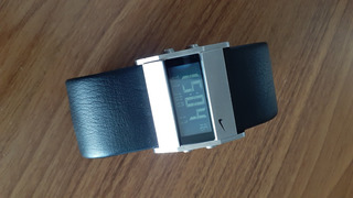 Relógio Nike Oregon Series Com Pulseira De Couro - Wa0038