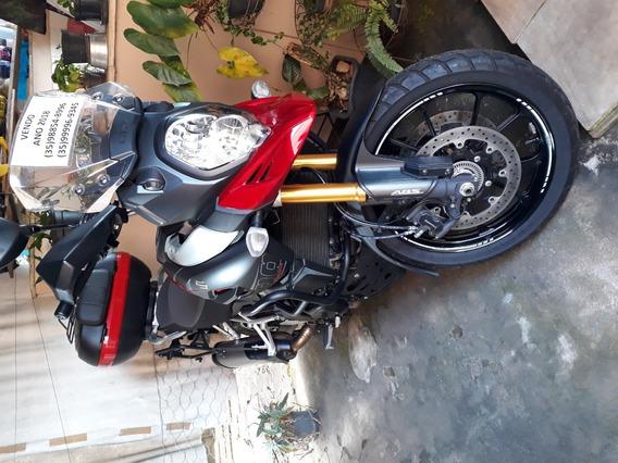 Moto Suzuki Vstrom 1000 2018 Vermelha