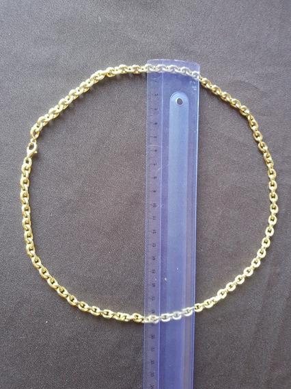 Cordão Ouro 16k 720 Masculino 60cm 86.6gr 5mm Larg Maciço