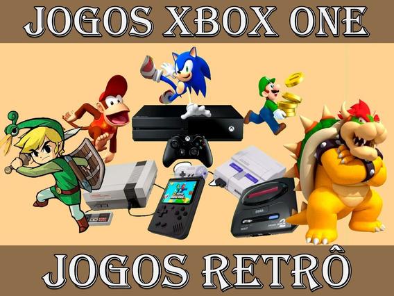 Emulador, Snes, Nes, Megadrive, Gameboy 1800 Jogos Xbox One
