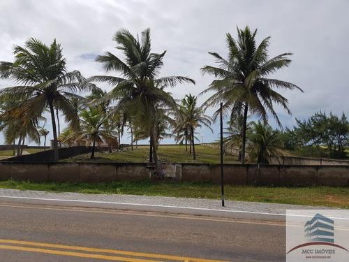 Imagem 1 de 3 de Terreno Beira Mar A Venda Praia De Barreta