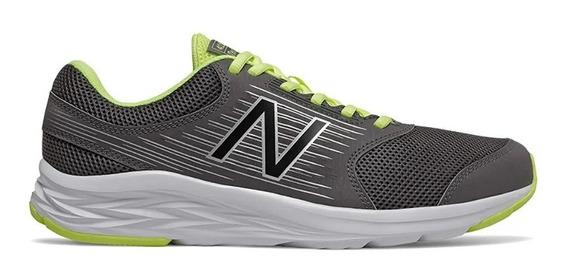 Zapatillas New Balance Running Hombre M411 Gris-verde Ras