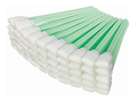 Cotonete De Limpeza Para Plotter - Pacote Com 50 Unidades