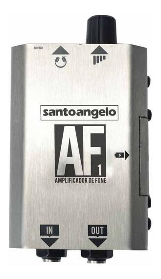 Amplificador Santo Angelo P/fone Af1 Prateado