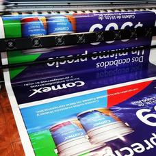 Impresión En Alta Resolución .x Metros Cuadrados Publicistas