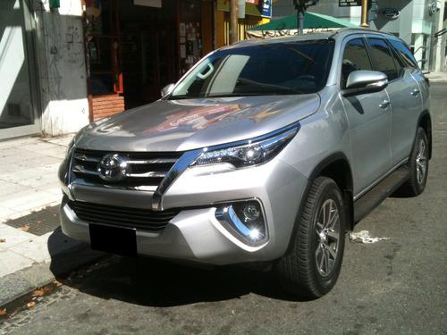 Toyota Sw4 Srx Automatica Cuero 7 Pasajeros 2020 Gris Plata