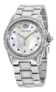 Reloj Mujer Juicy Couture Charlotte Crystal Blanco Madre Per