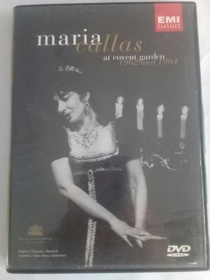 Maria Callas At Covent Garden 1962 And 1964 Dvd