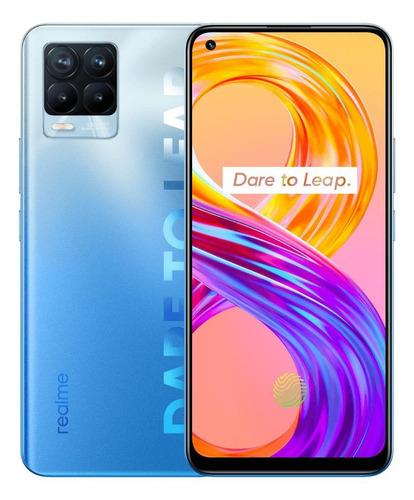 Imagen 1 de 5 de Realme 8 Pro Dual SIM 128 GB infinite blue 8 GB RAM