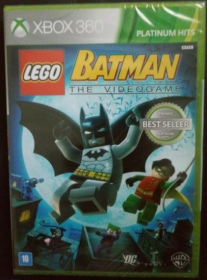 Lego Batman The Vídeo Game Xbox 360 Mídia Física Lacrado