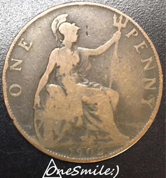 Onesmile:) Moneda De Gran Bretaña Año 1902