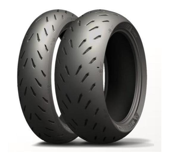 Pneu 120/70-17 & 200/55-17 Michelin Power Rs