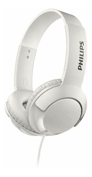 Fone De Ouvido Headphone Philips Shl3070 Branco Cabo P2