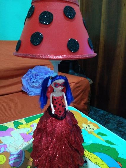 Abajur Eva Ladybug