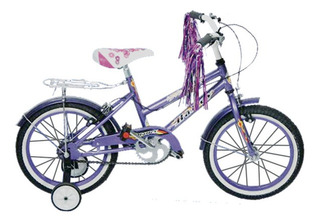 Bicicleta Halley Rodado 16 Dama De Lujo 19060
